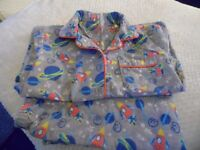 Four Pairs of Fleece PJ's age 3/4