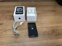 iPhone 5s 16GB Space Grey with case and cables