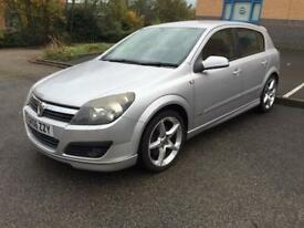 STUNNING A MUST SEE VAUXHALL ASTRA SRI TURBO 2.0 PETROL 200 BHP 6 SPEED BOX SPORTS BUTTON FSH