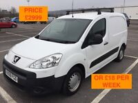 2009 PEUGEOT PARTNER 1.6 HDI / NEW MOT / PX WELCOME / NO VAT / FINANCE AVAILABLE / WE DELIVER