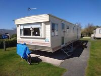 8 BERTH HOLIDAY CARAVAN FOR HIRE AT PRESTATYN - PRESTHAVEN SANDS, NORTH WALES (BEAUMARIS SECTION)