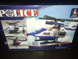 Police Helicopter Lego