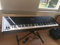 YAMAHA MOTIF XF8 GREAT CONDITION WITH ACCESSORIES, TRIFIBRE CASE AND SUSTAIN PEDAL