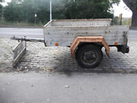 VERY ROBUST TRAILER IN NEED OF SOME TLC