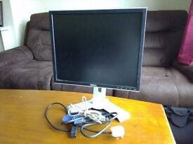 "Dell 1908FPC 19"" HD Monitor with 4 USB ports"