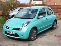 2007 NISSAN MICRA 1.2 CHIC, 5DR, MOTOR WAY MILES, MOT TILL SEPTEMBER, 2 KEYS, HPI CLEAR