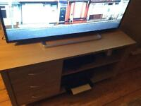 Large TV unit with storage