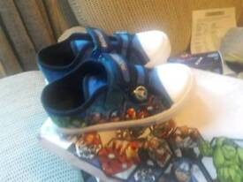 Avengers childrens shoes brand new in bix