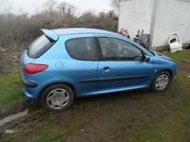 2001 peugeot 206 diesel NO MOT goes well