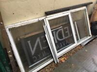 Double glazed upvc window 232cm wide x 100cm tall