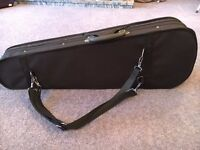 Brand new superior quality violin 1/2 size with box and music book support