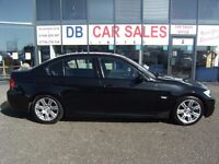 2008 08 BMW 3 SERIES 2.0 320I M SPORT 4D AUTO 169 BHP**GUARANTEED FINANCE **** PART EX WELCOME ****