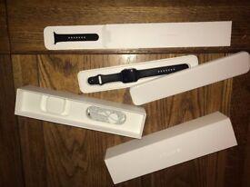 Apple Watch Series 1 Sport 42mm Space Grey Aluminium Black Sport Band