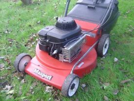 Masport 300-4 petrol push lawnmower Briggs and Stratton engine - needs repairing