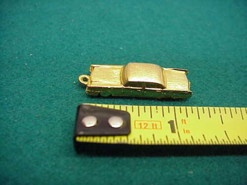 Old Cadillac gold plated car charm