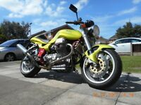 Moto Guzzi V11 sport injection naked, 2001, fsh MINT!