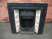 Vivtorian cast iron fireplace