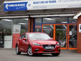 MAZDA 3 1.5 SE 5dr *Great Value Family Hatch* (red) 2015