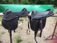 Saddles equestrian horse