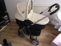 REDUCED Billie Faiers My Babiie Pram & car seat