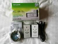 TP-Link AV200+ Powerline Adapter with AC Pass Through