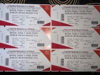 6x *FACE VALUE* Anthony Joshua Vs Parker Tickets