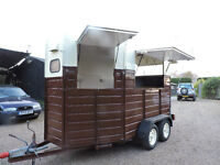 Classic Catering Horse Trailer Conversion