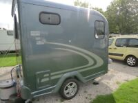 Lightweight 750 kg caravan 2 berth can be towed by almost any car ,in excellent condition