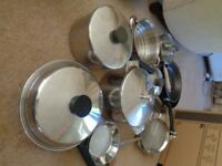 Swiss Silcro Pots and Pans