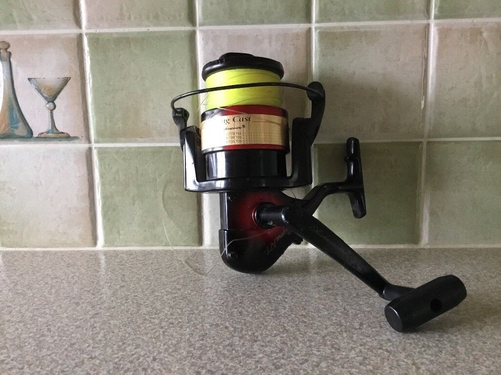 A Shakespeare sea fishing reel with spool