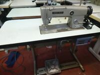 Used Brother DB2-B790-3 Needle Feed Lockstitch Flatbed, Reverse Complete Stand & Clutch Motor