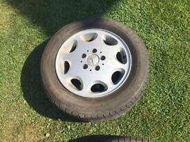Mercedes W124 alloy wheels
