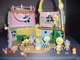 Fifi and Th Flower Tots Playset and characters