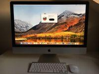 Apple iMac 27 inch. Late 2013. 3.4GHz Core i5. 8GB RAM. 1TB HDD. 2GB Graphics.