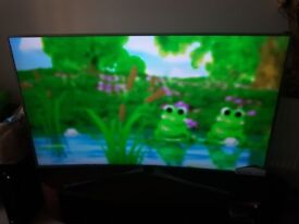 SAMSUNG curved TV 55MU6670 new without a box