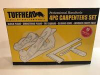 Tuffhead 4pc Carpenters Tool Set.