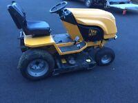 Ride on diesel mulching mower