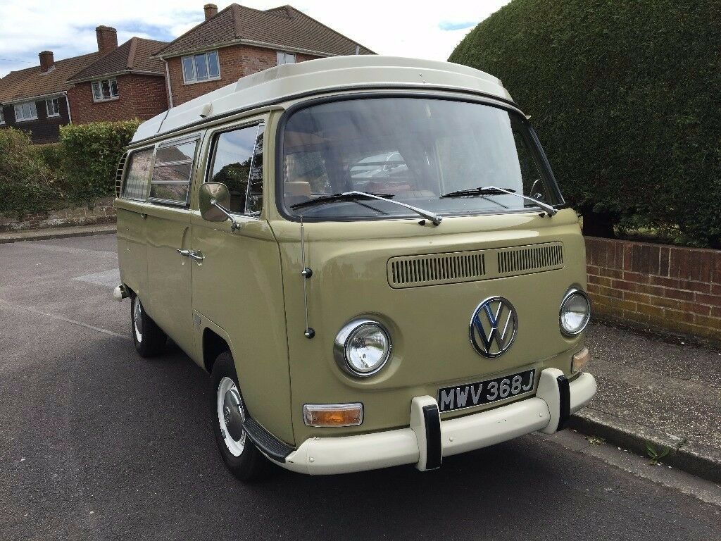 1971 usa import lhd vw t2 early bay window westfalia 4 for Wyoming valley motors vw service