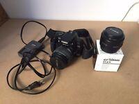 Canon EOS 400D DSLR digital camera + Canon 18-55mm zoom lens + Canon 50mm lens + 2GB SanDisk card