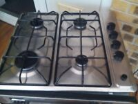 Old but faithful electric single over and gas hob