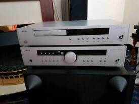 ARCAM DIVA A85 AND ARCAM DIVA 93 CD PLAYER