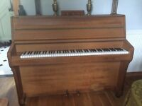 Upright piano made by top company B Squire, good working order, daughter achieved grade 6 using it