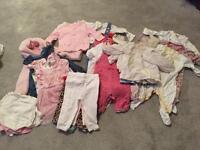 Baby girl bundle 6-9 months