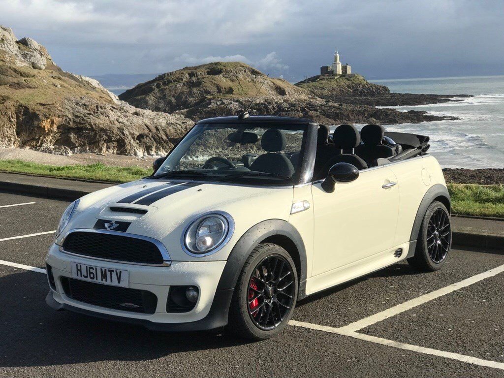 Immaculate Mini Convertible John Cooper Works R57 Jcw