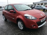 2010 Renault CLIO 1.2 Dynamique ,mot - March 2019 , only 65,000 miles , 2 owners ,corsa,fiesta,punto