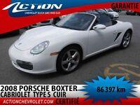 2008 Porsche Boxster S TYPE CUIR CABRIO