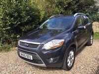 Ford Kuga 2.0 TDCi Zetec 4x4 5dr £9,450 LOW MILEAGE ** GREAT DRIVE