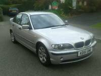 Bmw e46 320 diesel start and drive great 2001 face lift got mot full leather interior