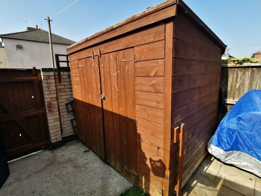 8ft X 6ft Wooden Shed Double Doors In Great Yarmouth Norfolk Gumtree