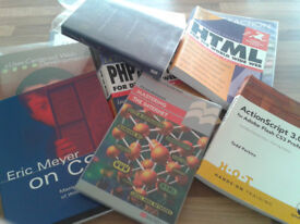 Various Web and Multimedia Programming Books